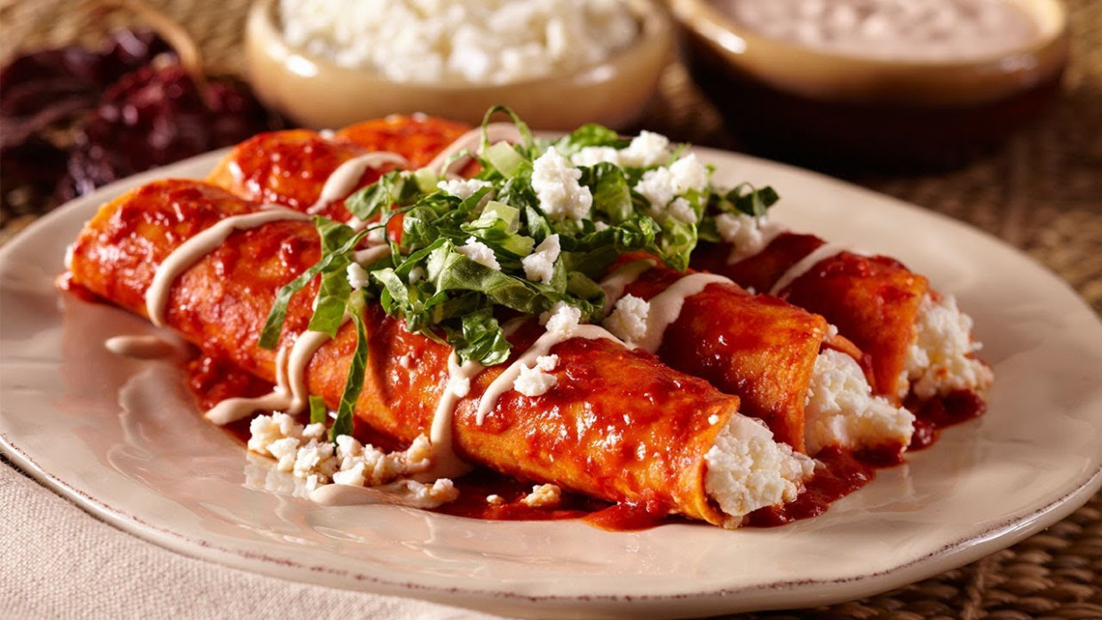 Authentic Queso Fresco Enchiladas - queso fresco recipes chicken
