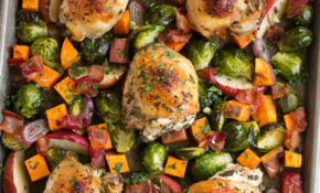 Autumn Chicken Dinner Recipe One Pan! – Cooking Classy – Dinner Recipes One Pan