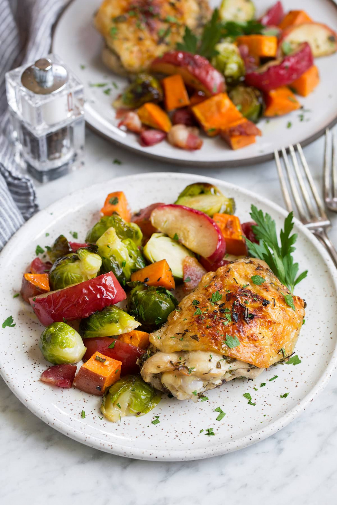 Autumn Chicken Dinner Recipe One Pan! - Cooking Classy - recipes for dinner with chicken