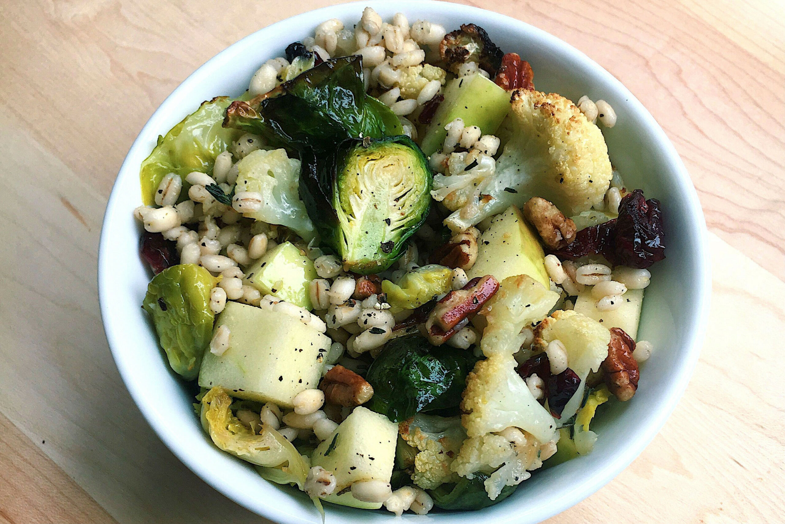 Autumn Grain Bowl - Grain Bowl Recipes Vegetarian