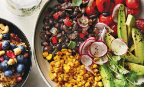 Avocado, Black Bean, And Charred Tomato Bowl Recipe ..