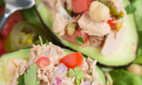 Avocado Filled Canned Tuna Ceviche Salad > Call Me PMc