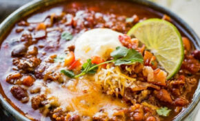 Award Winning Instant Pot Chili Recipe – Oh Sweet Basil – Recipes Instant Pot Healthy