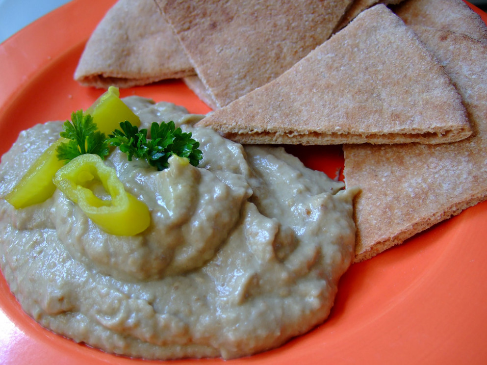 baba ghanoush - middle eastern vegetarian recipes