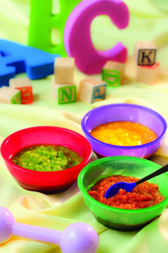 Baby Food Purées - recipes baby food