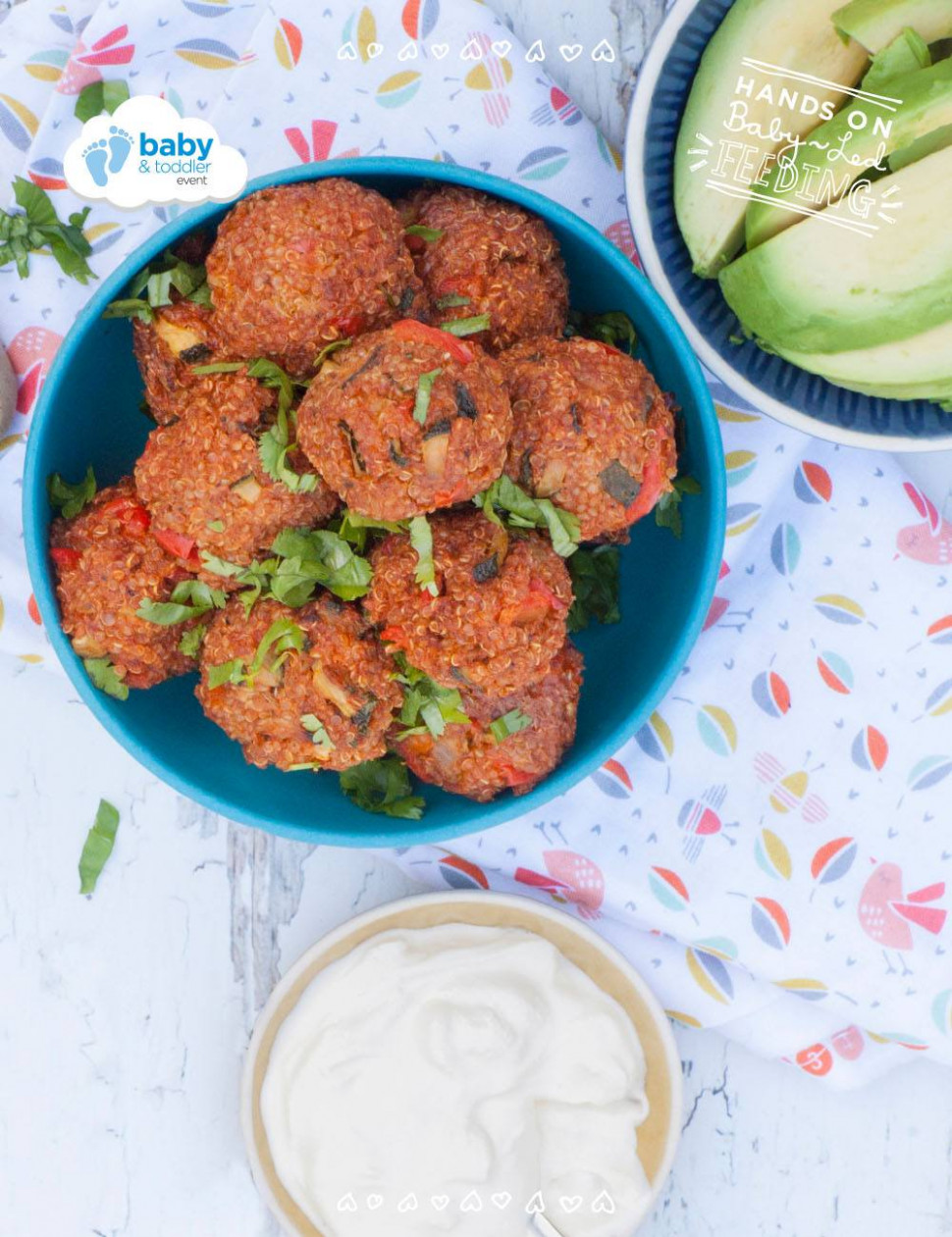 Baby Led Weaning Mexican Quinoa Bites - Recipes Using Baby Food Meat