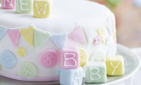 Baby Shower Cake – Asda Good Living – Baby Food Recipes 6 8 Months