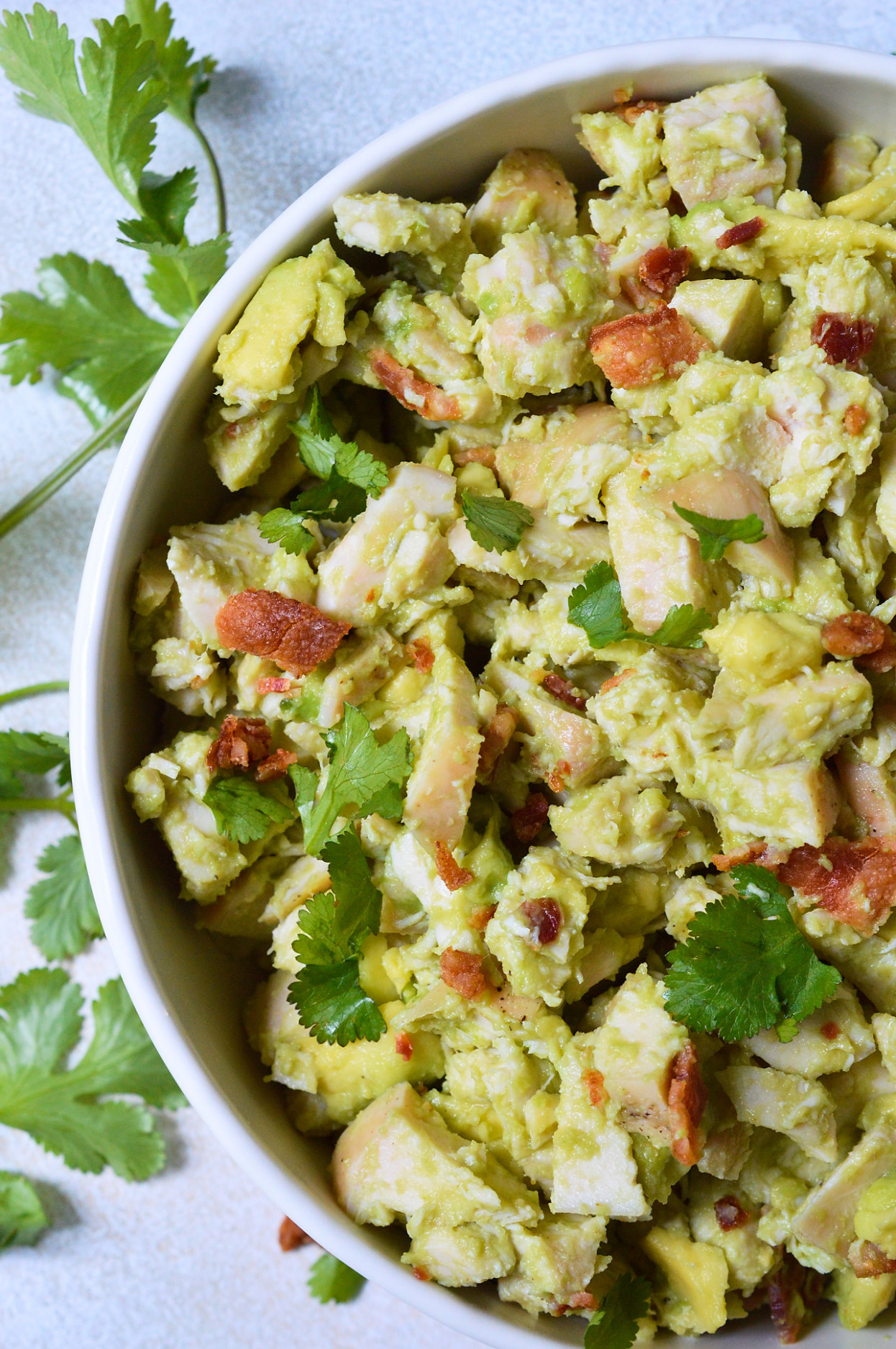 Bacon Avocado Chicken Salad Whole30 Recipe - WonkyWonderful - Recipes For Chicken Salad