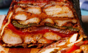 Bacon BBQ Chicken Loaf Recipe By Tasty – Recipes With Bacon For Dinner