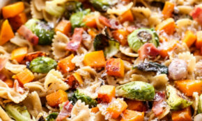 Bacon, Brussels Sprouts, Butternut Squash Pasta – Recipe ..