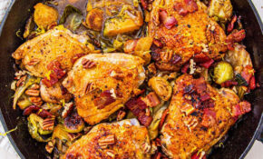 Bacon Harvest Chicken Skillet – Chicken Recipes Delish