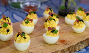 Bacon Topped Deviled Eggs – Food Recipes Egg