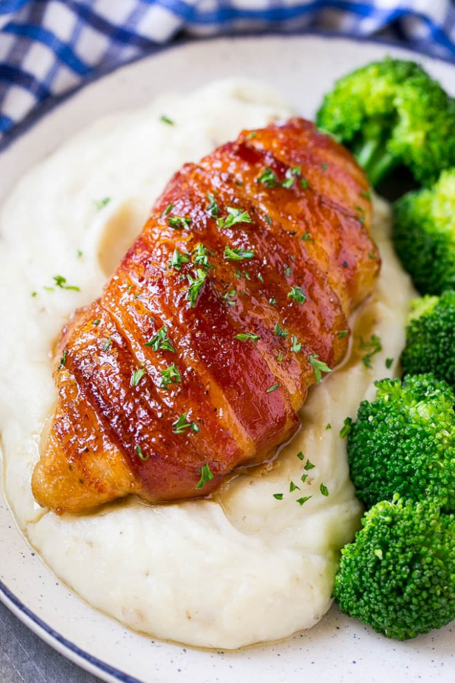 Bacon Wrapped Chicken - Dinner at the Zoo - dinner at the zoo chicken recipes