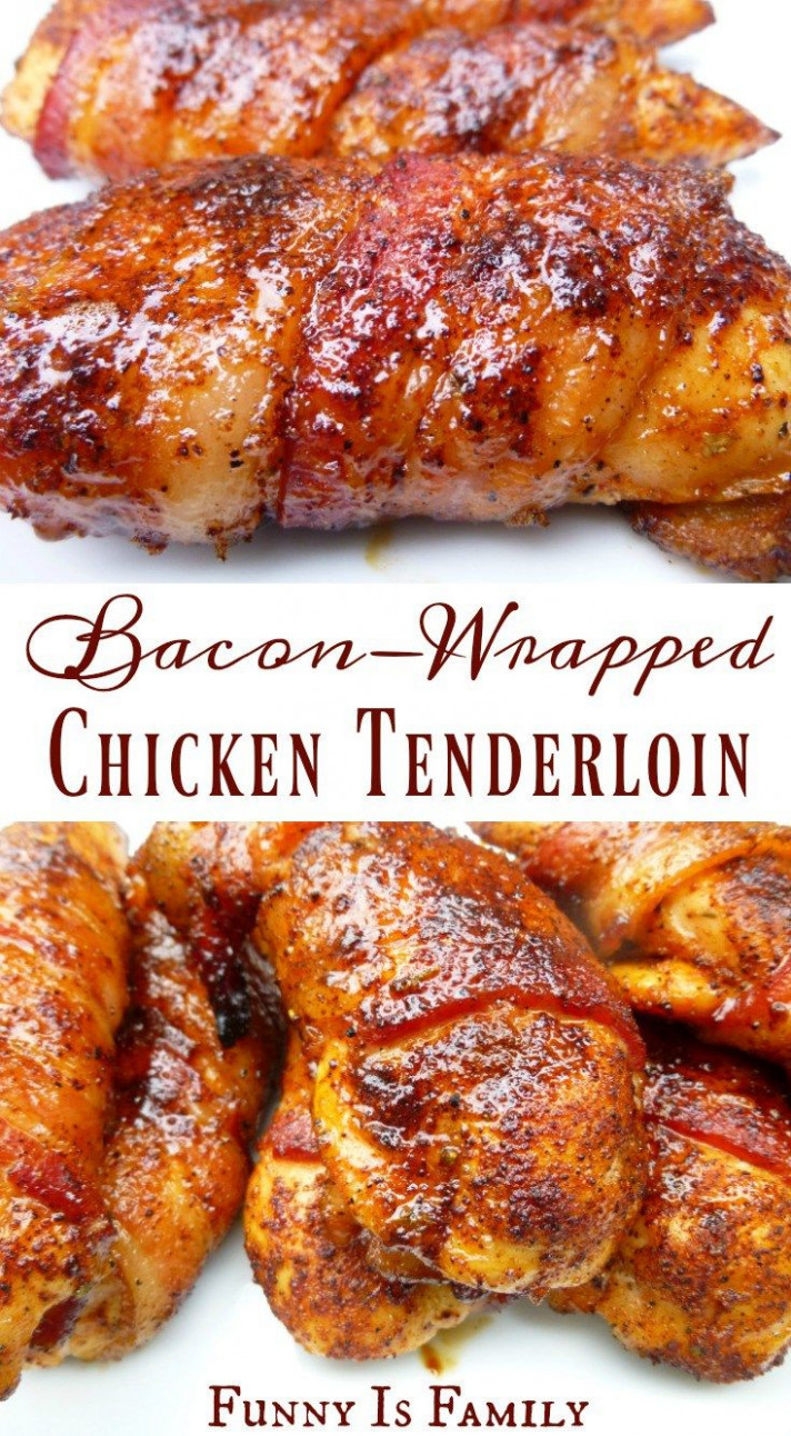 Bacon Wrapped Chicken Tenders | Recipe | Dinners And ..