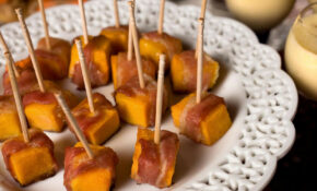Bacon Wrapped Squash Bites Recipe – Chowhound – Dinner Recipes With Bacon