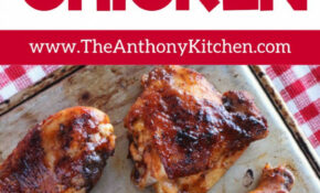 Baked BBQ Chicken Legs And Thighs – Chicken Recipes Legs And Thighs