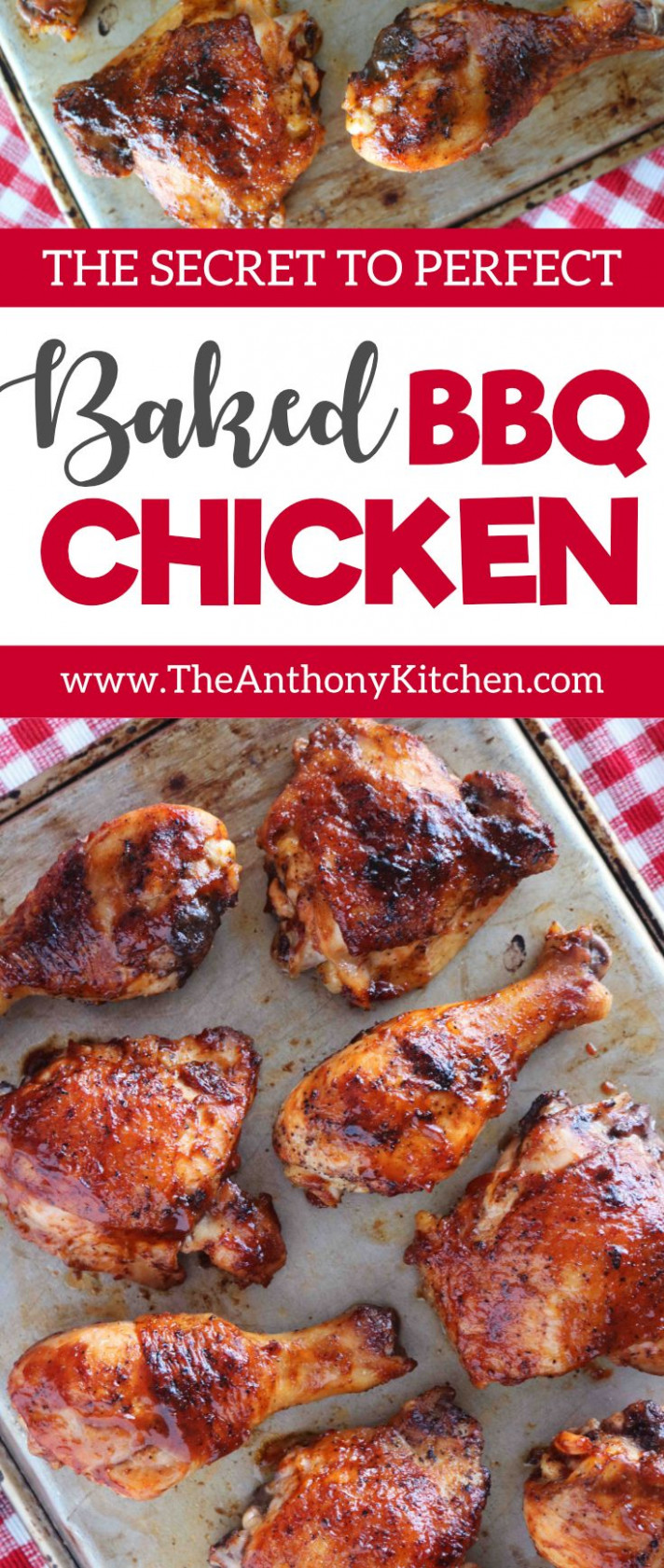 Baked BBQ Chicken Legs and Thighs - chicken recipes legs and thighs
