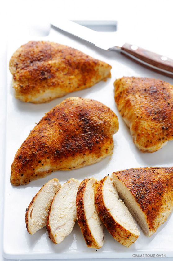 Baked Chicken Breast | Gimme Some Oven - chicken recipes baked