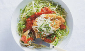 Baked Chicken Parmesan With Zucchini Noodles – Zucchini Noodles And Chicken Recipes
