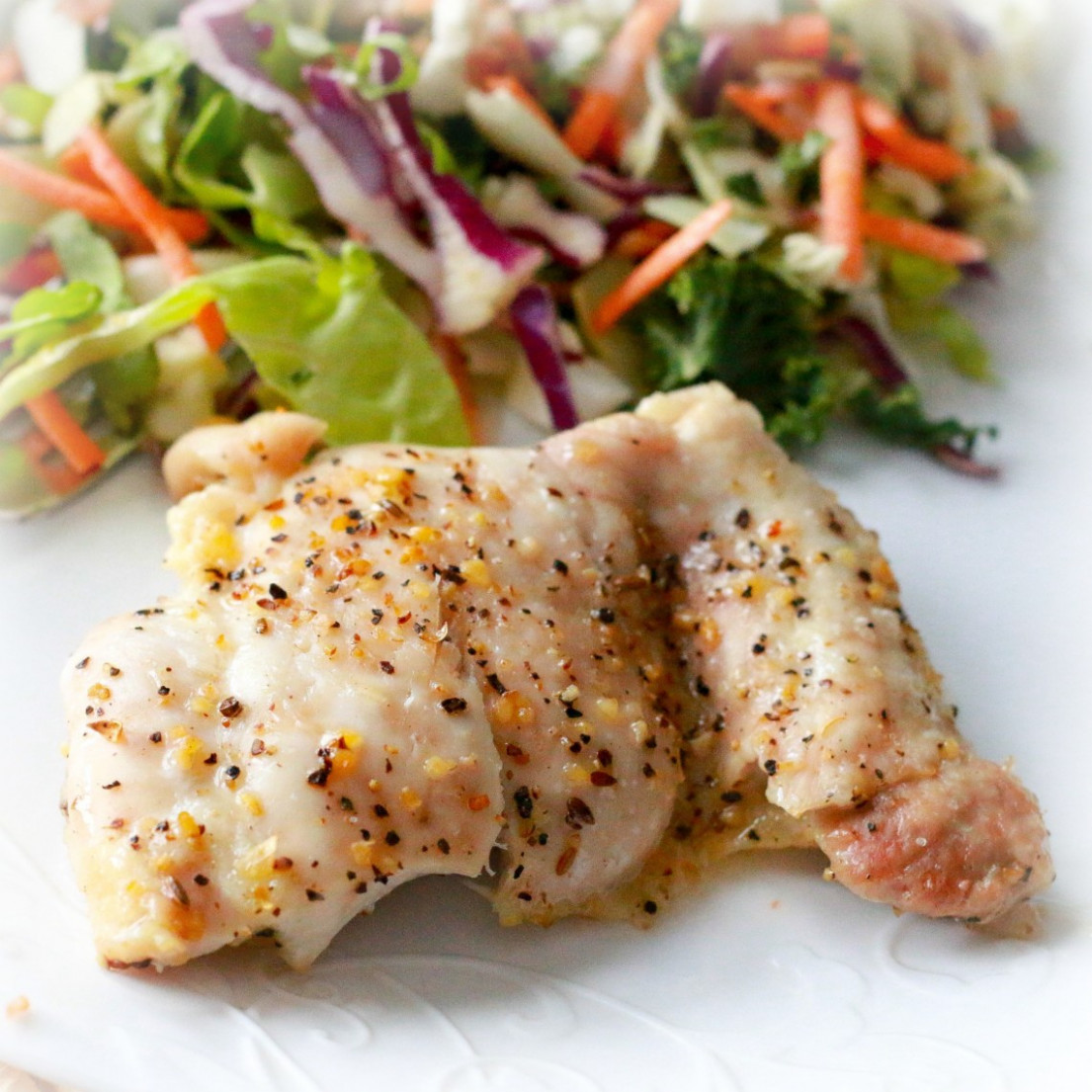 Baked Chicken Thighs - chicken recipes easy baked