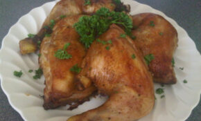 Baked Chicken Thighs Leg Quarters Recipe – Food