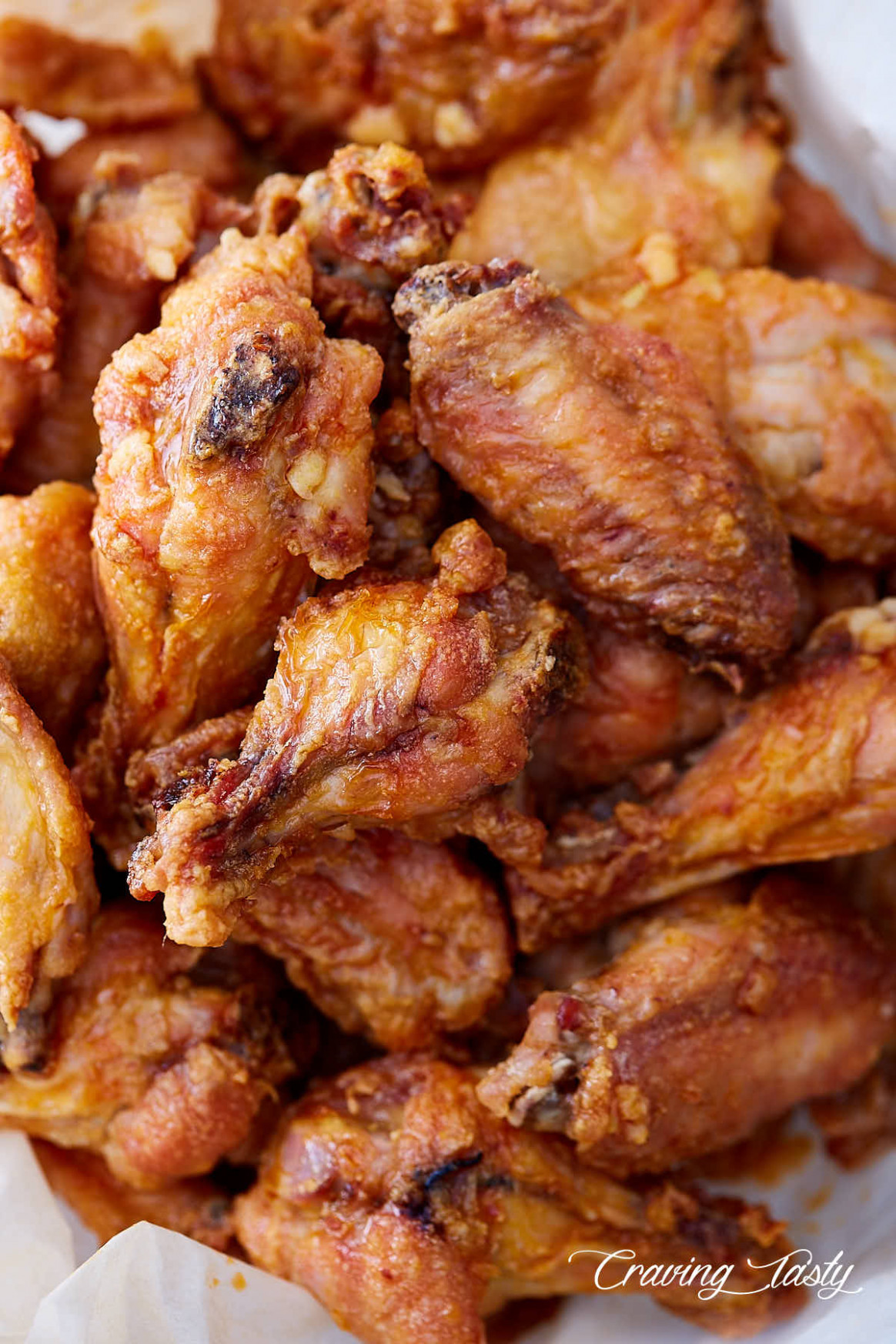 Baked Chicken Wings - Extra Crispy, Like Deep-Fried - chicken recipes your food lab