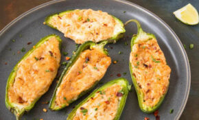 Baked Cream Cheese Jalapeno Poppers – Recipe – Recipes Jalapeno Poppers Vegetarian