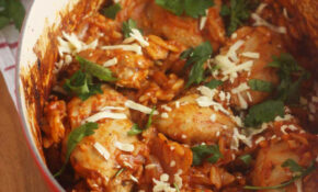 Baked Greek Chicken Orzo – Greek Recipes Chicken