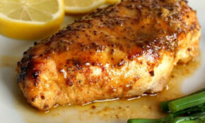 Baked Honey Mustard Chicken Breast With A Touch Of Lemon – Recipes For Chicken