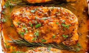 Baked Honey Mustard Chicken – Diethood – Chicken Recipes Honey Mustard