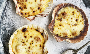 Baked In The Shell Queenie Scallops Recipe | Olive ..