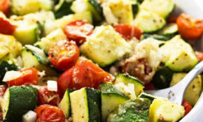 Baked Italian Zucchini, Tomatoes And Onions | The Blond Cook – Healthy Zucchini Recipes Side Dish