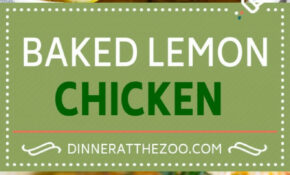 Baked Lemon Chicken – Chicken Recipes Dinner Healthy