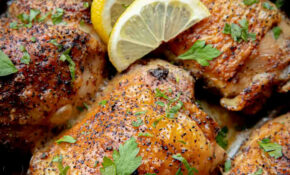 Baked Lemon Chicken – Recipes Lemon Chicken