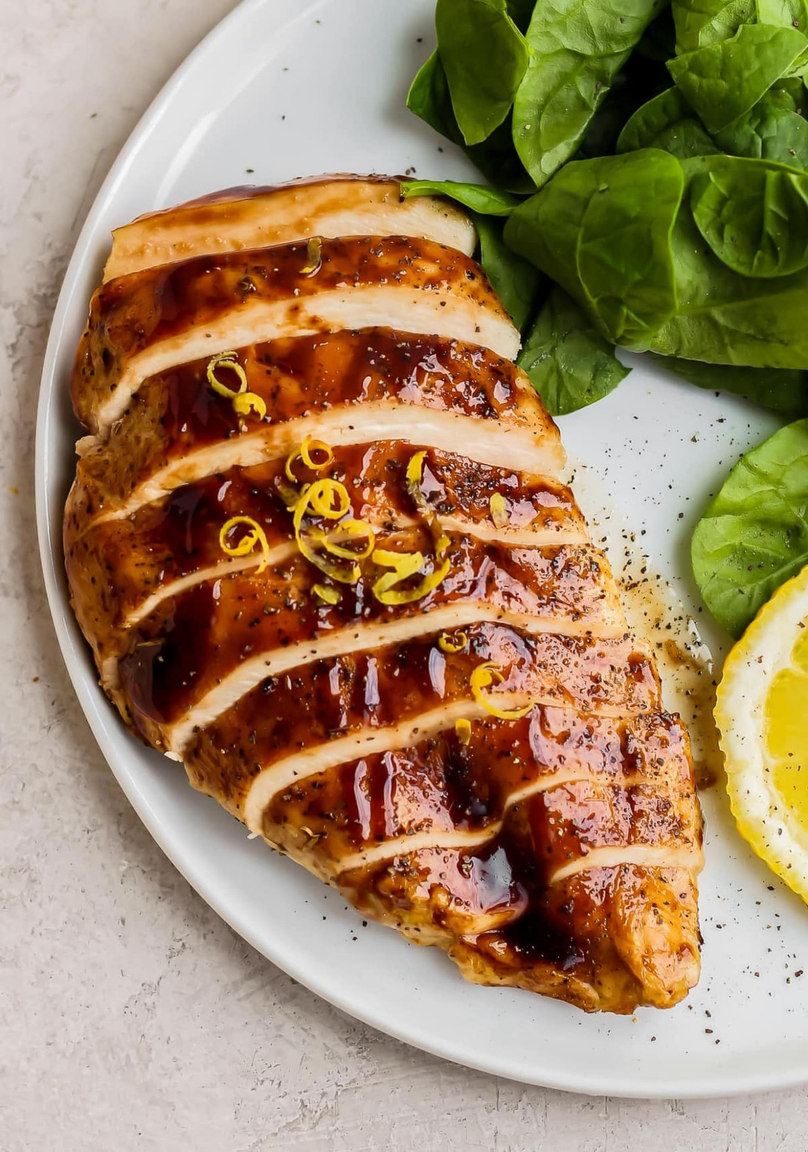 Baked Lemon Honey Balsamic Chicken Recipe - recipes for chicken