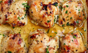 Baked Maple Chicken Thighs (Boneless And Skinless) – Chicken Recipes Thighs