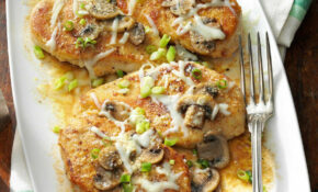 Baked Mushroom Chicken Recipe | Taste of Home