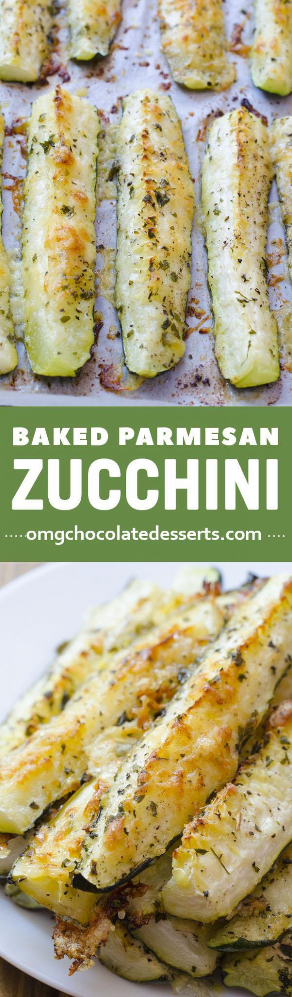 Baked Parmesan Zucchini | Easy Vegetable Side Dish - baked zucchini recipes healthy