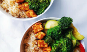 Baked Peanut Tofu Bowls – High Protein Recipes Dinner