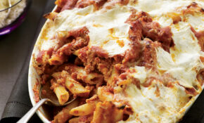 Baked Penne With Sausage And Creamy Ricotta Recipe – Maria ..