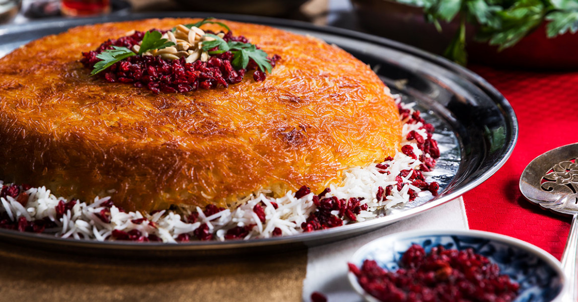 Baked Rice (Tahchin) Recipe | Tasting Table - Recipes Persian Food