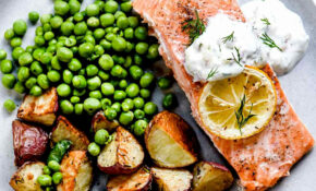 Baked Salmon With Creme Fraiche – Healthy Recipes Nz