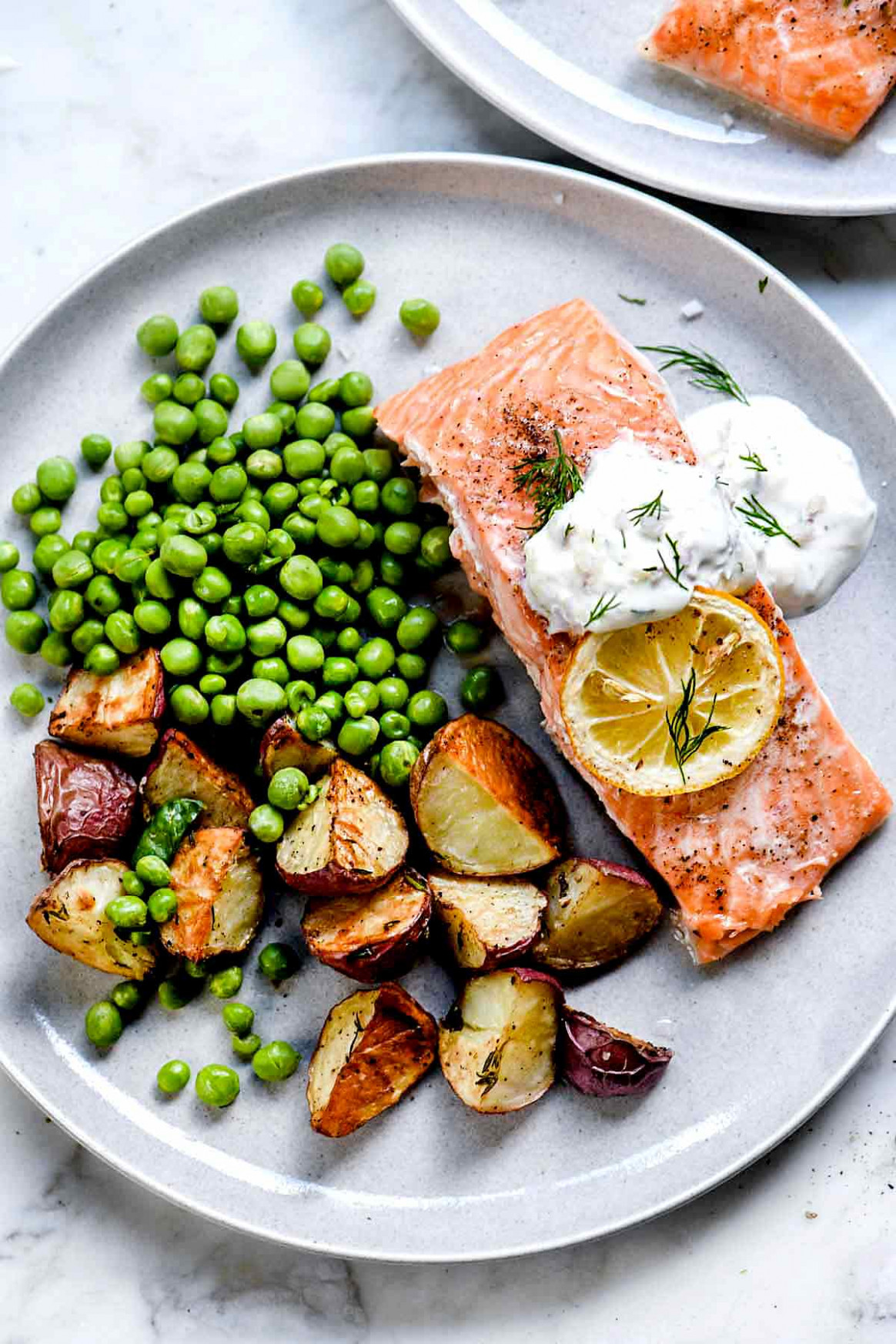 Baked Salmon With Creme Fraiche - Healthy Recipes Nz