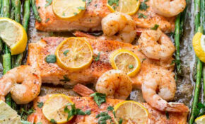 Baked Shrimp Salmon Recipe – Food Recipes With Shrimp