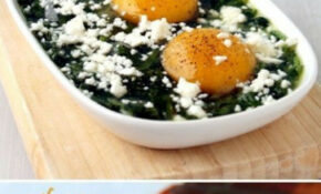 Baked Spinach And Eggs Delicious Recipes – Baking ..