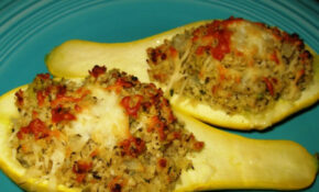 Baked Stuffed Yellow Squash Boats Recipe - Food.com