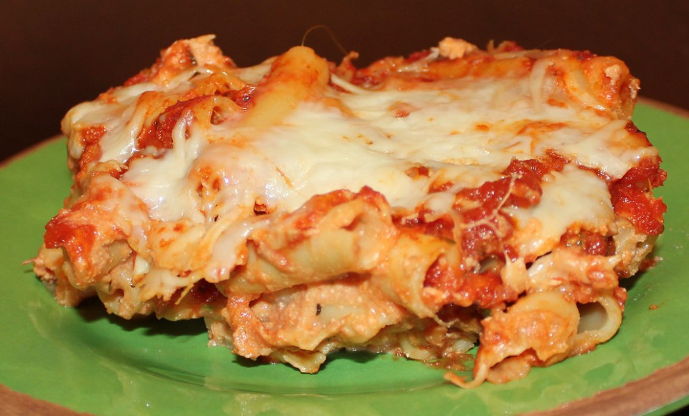 Baked Ziti - Pasta Bake Recipes Vegetarian