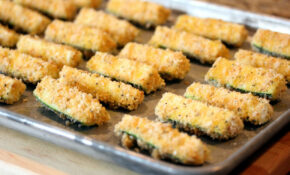 Baked Zucchini Fries – North Carolina Research Campus – Baked Zucchini Recipes Healthy