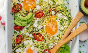 Baked Zucchini Noodles (Zoodles) Egg Nests | Healthy Fitness ..