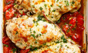 Balsamic Baked Chicken Breast With Mozzarella Cheese – Cafe ..